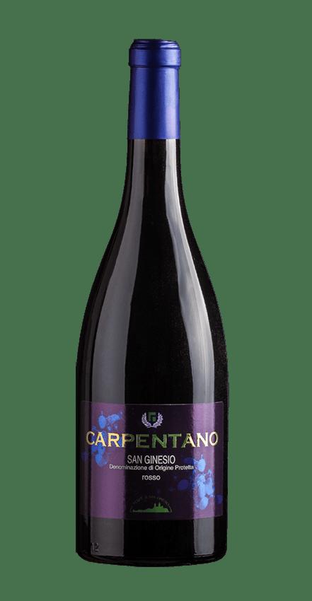 bottiglia vino carpentano